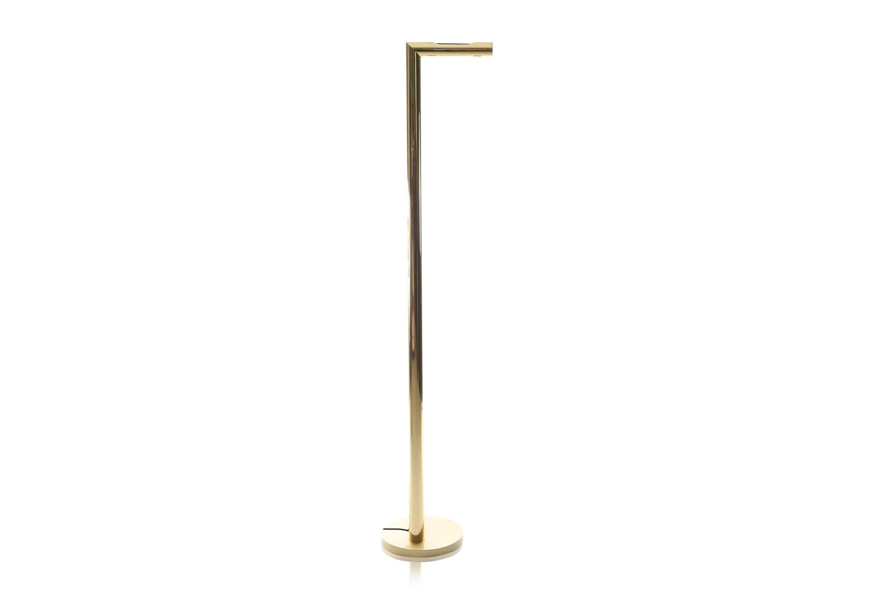 Brass uplighting floor lamp 1970s for sale at pamono for 1970s floor lamps