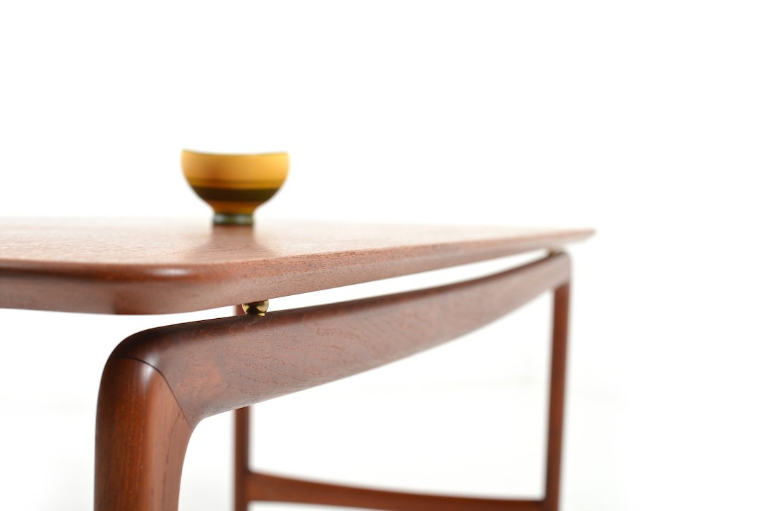midcentury sofa table by peter hvidt  orla mølgaard nielsen for  - price per piece