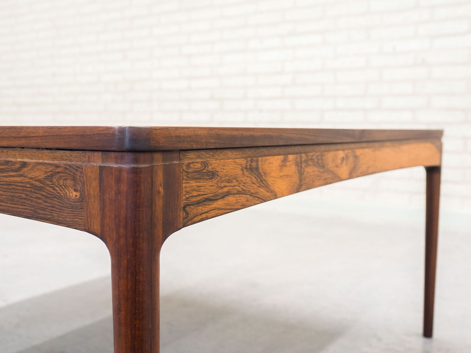 Mid Century Danish Coffee Table by Ole Wanscher for AJ Iversen for