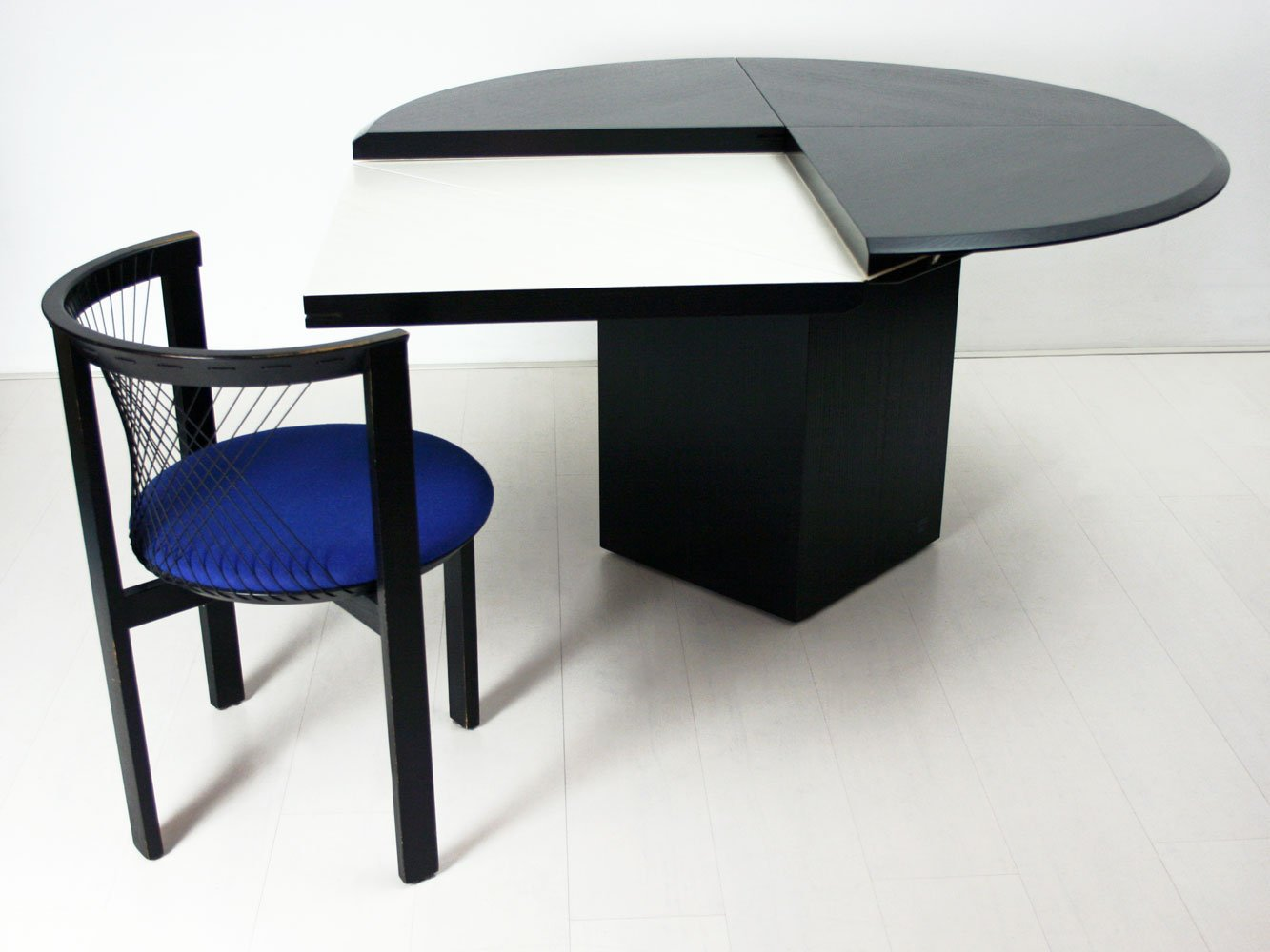 German Quadrondo Dining Table By Erwin Nagel For Rosenthal Einrichtung 1980s