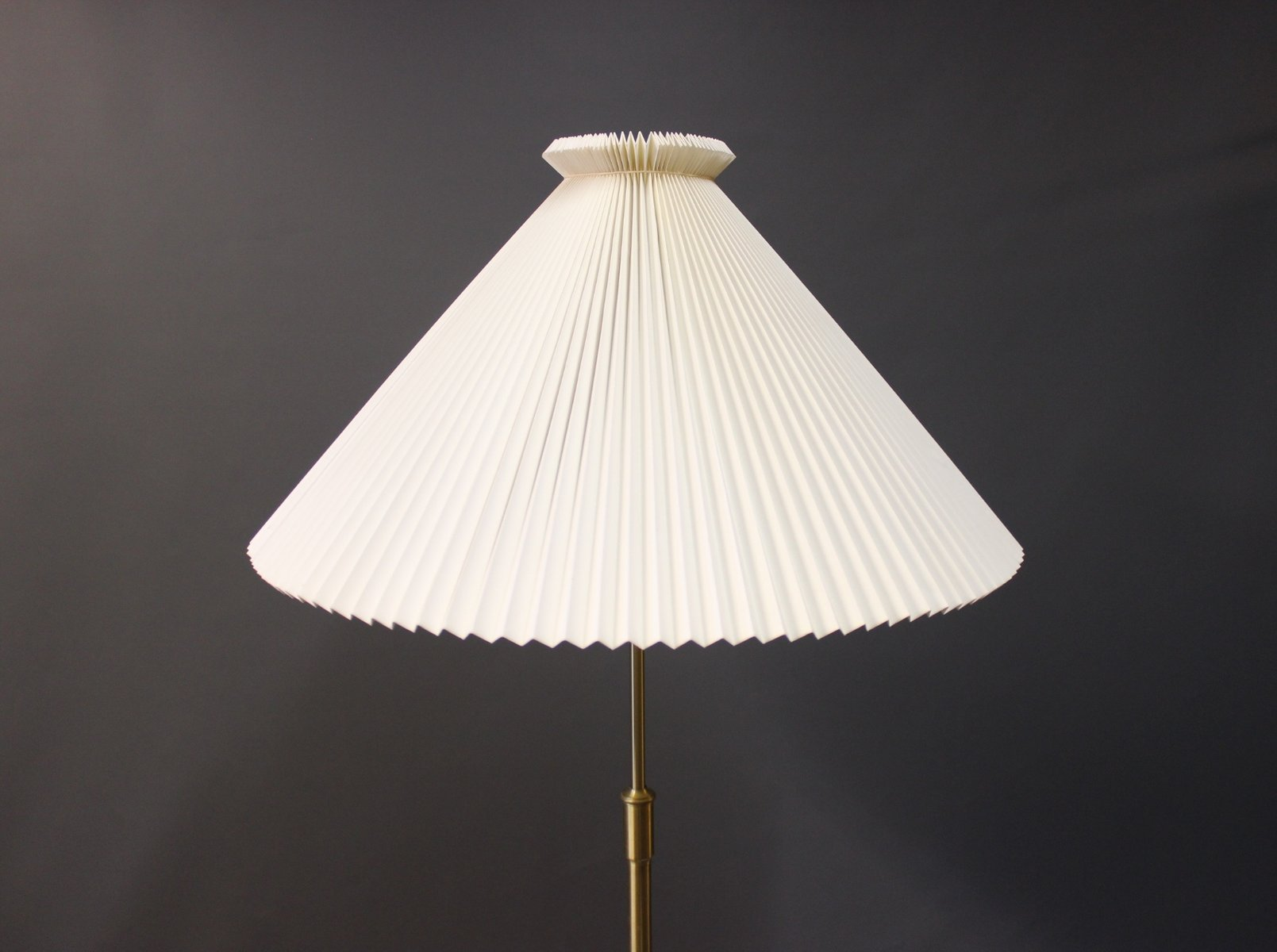 Model 351 Floor Lamp by Aage Petersen for Le Klint 1980s for sale