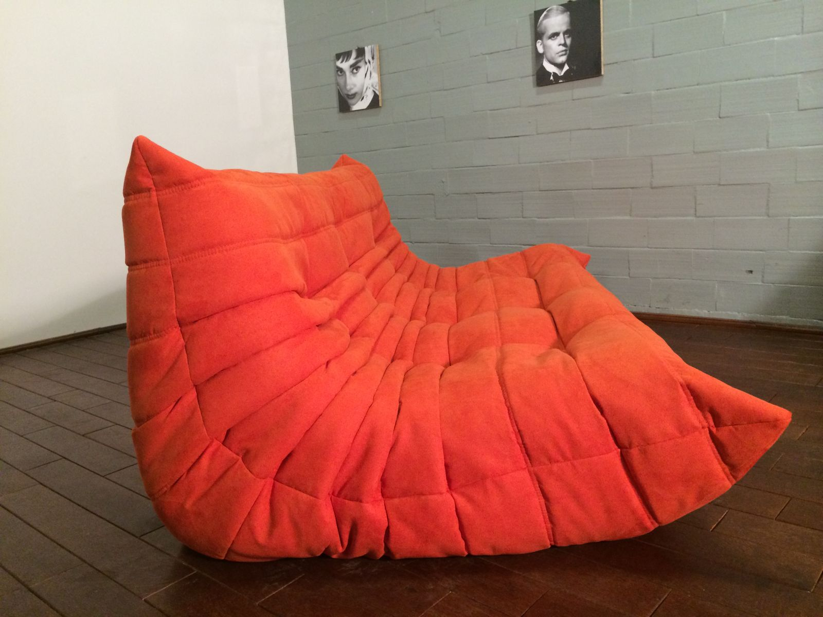 togo 3 sitzer sofa von michel ducaroy f r ligne roset 1970er bei pamono kaufen. Black Bedroom Furniture Sets. Home Design Ideas