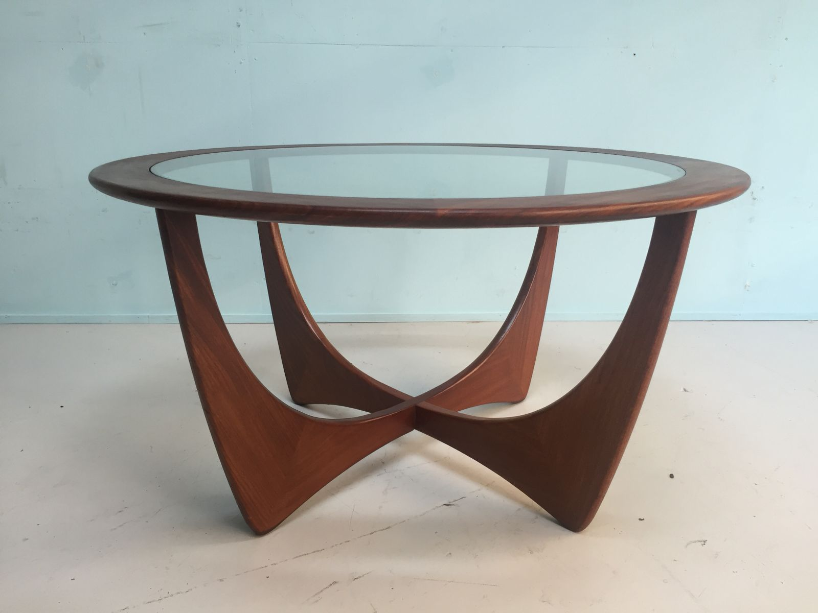 English Solid Teak Coffee Table from G Plan 1960s for sale at Pamono