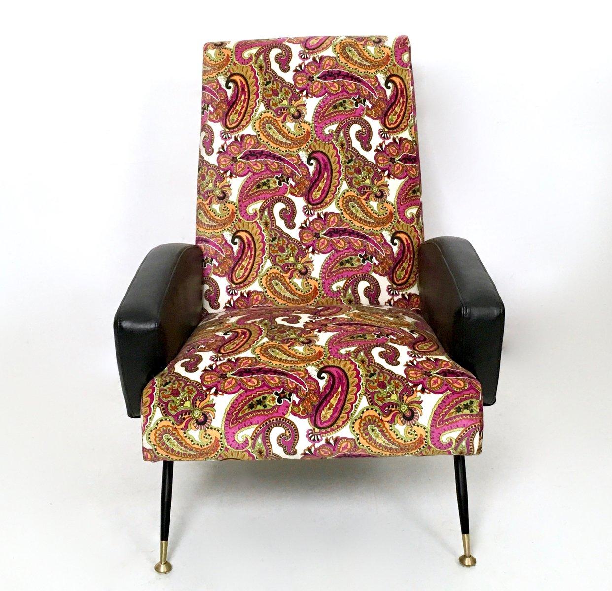 italienische sessel aus samt skai 1950er 2er set bei pamono kaufen. Black Bedroom Furniture Sets. Home Design Ideas