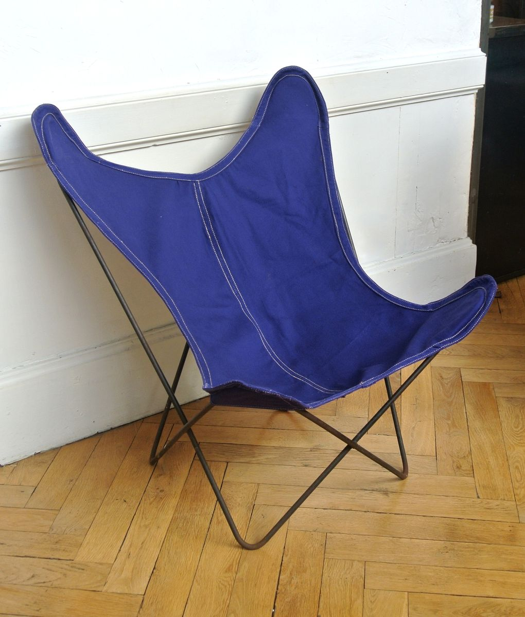Blue Butterfly Chair From Artek Pascoe At Pamono
