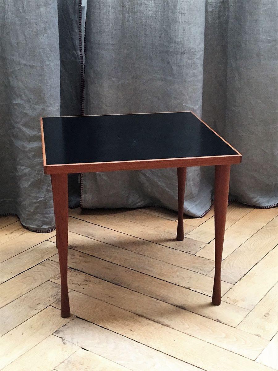 Danish Side Table By Hans C. Andersen, 1950s