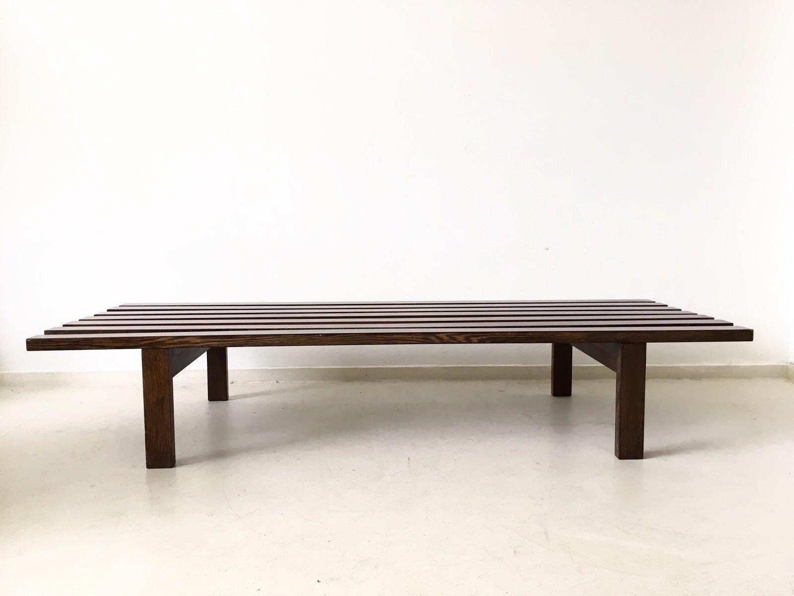 Slat Bench By Martin Visser For 39 T Spectrum Bergeijk 1965 For Sale At Pamono