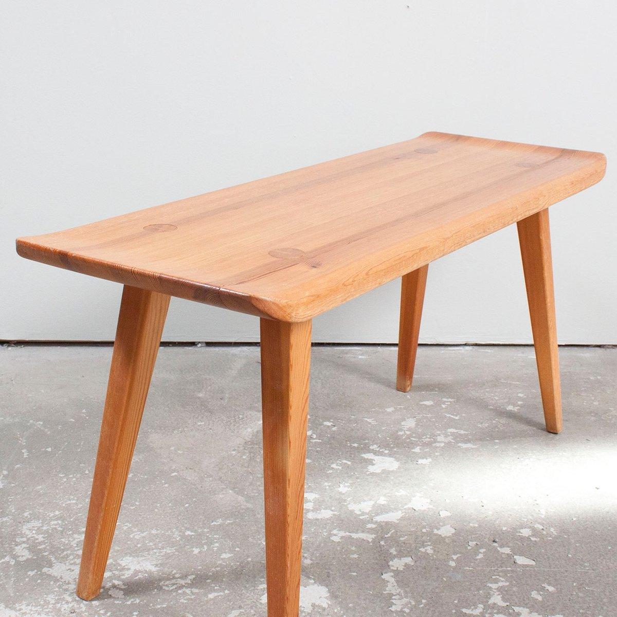 Mid Century Visingsö Pine Bench By Carl Malmsten For Waggeryds Möbelfabrik