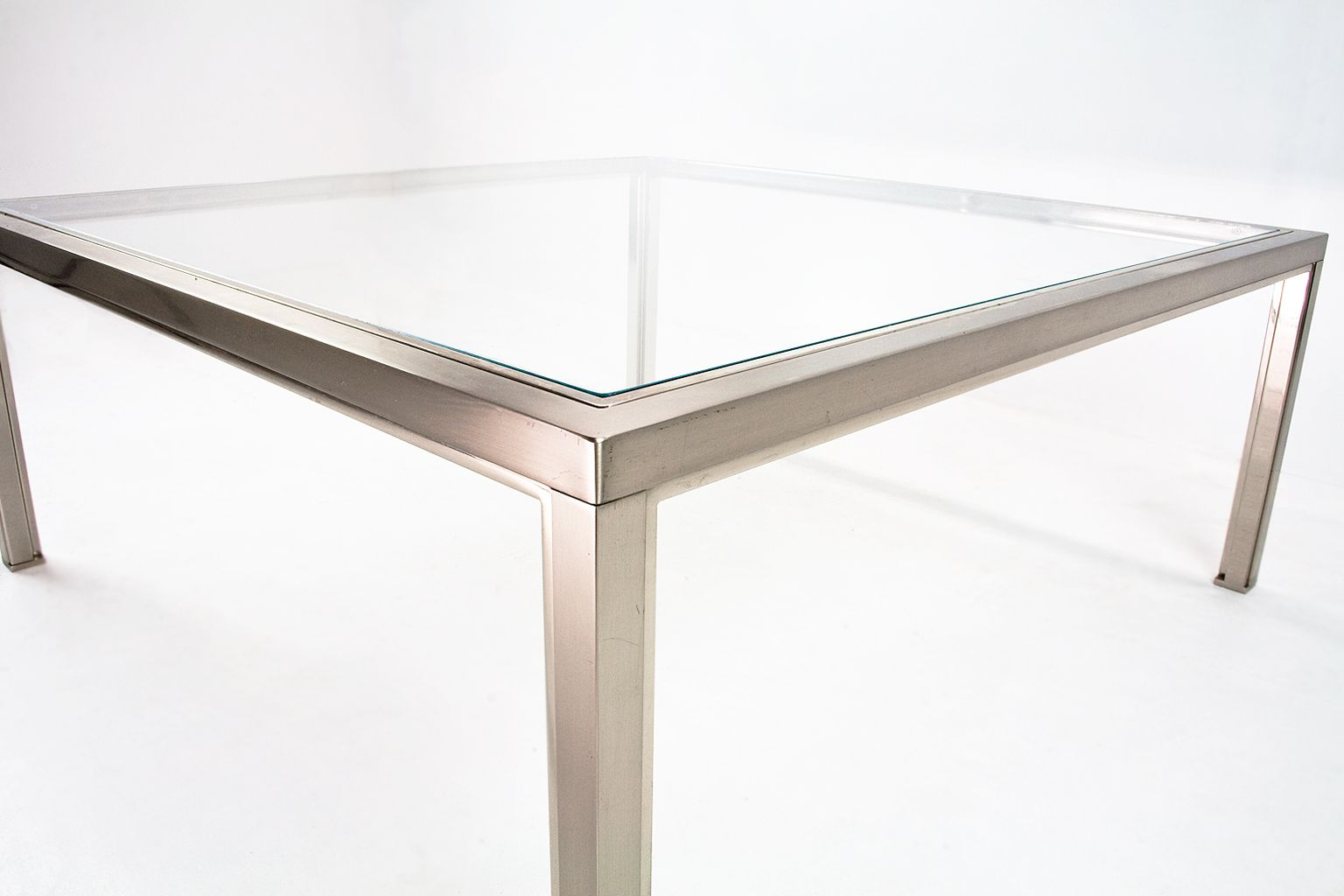Coffee Table Industrial Mid Century Industrial Large Coffee Table For Sale At Pamono