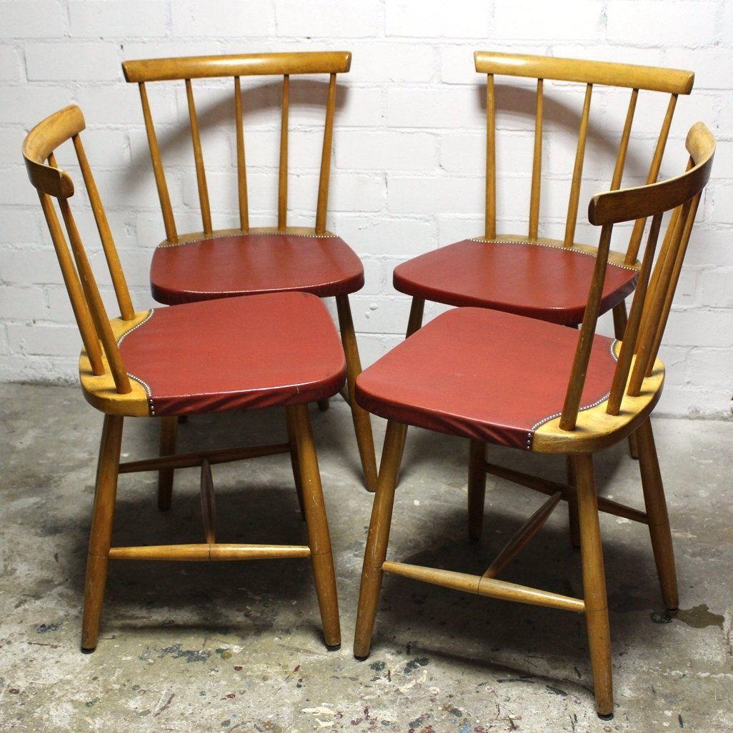 100 mid century danish dining chairs 1960s set of 4 for sal