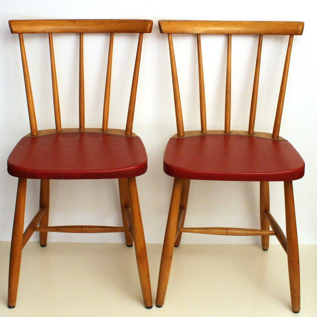 Mid century vintage dining chairs s set of for