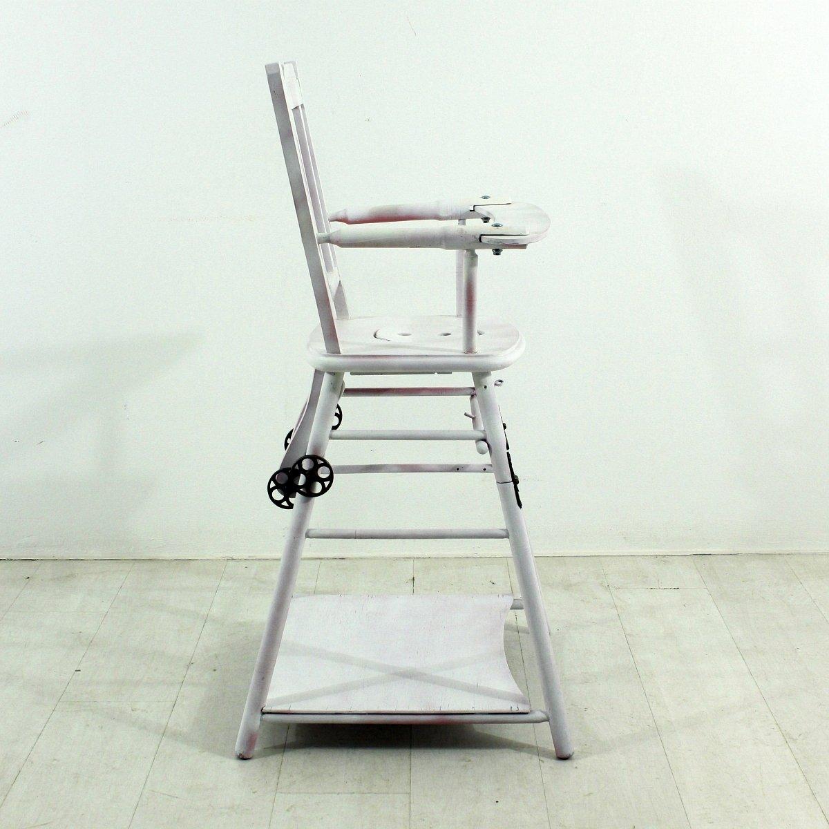 antiker kinder hochstuhl bei pamono kaufen. Black Bedroom Furniture Sets. Home Design Ideas