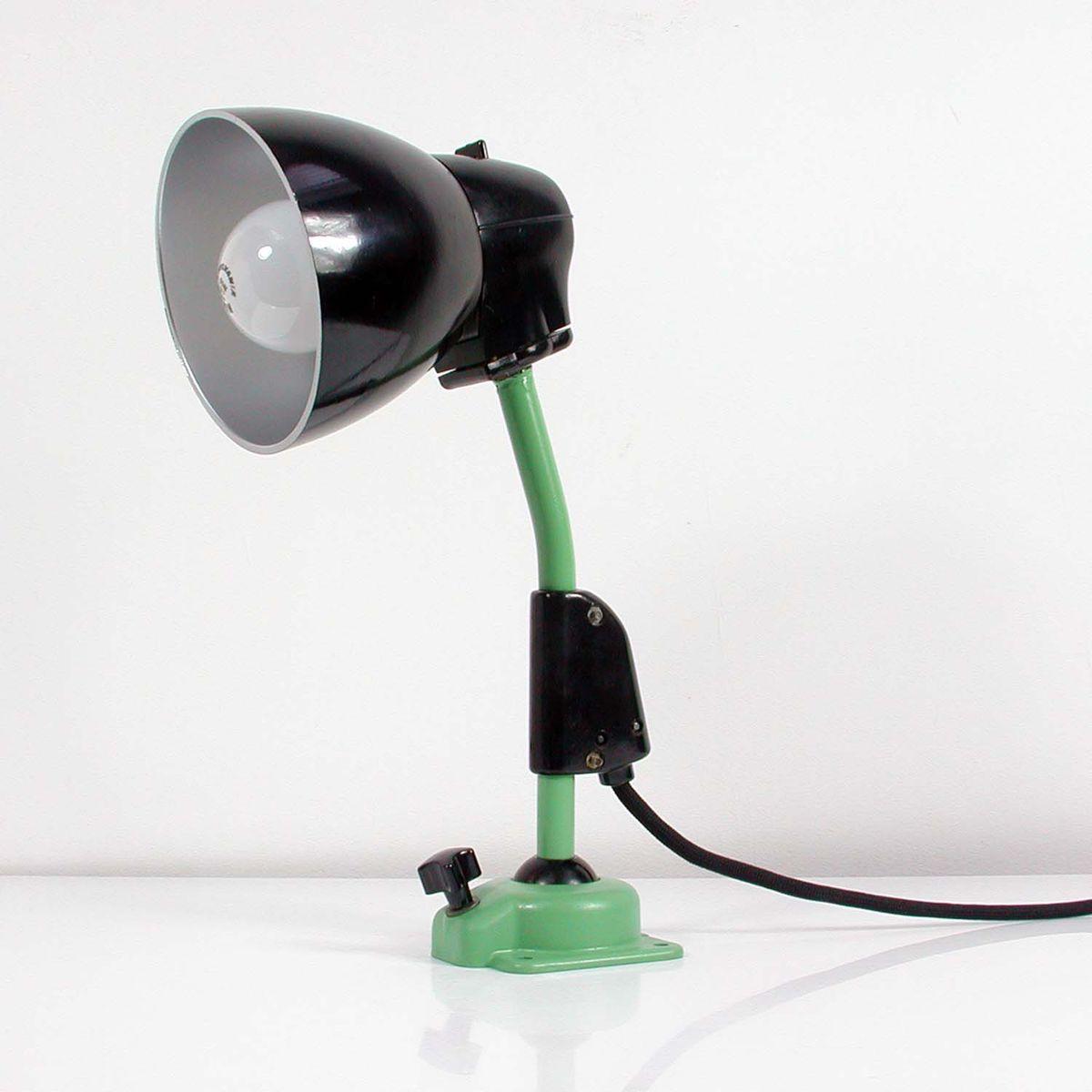 vintage industrie arbeitslampe von kandem leuchte 1950er. Black Bedroom Furniture Sets. Home Design Ideas