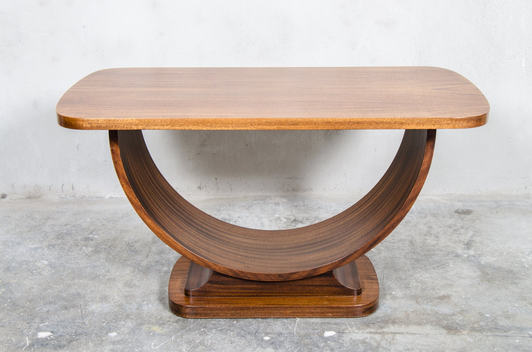Belgian Teak Art Deco Side Table 1920s for sale at Pamono