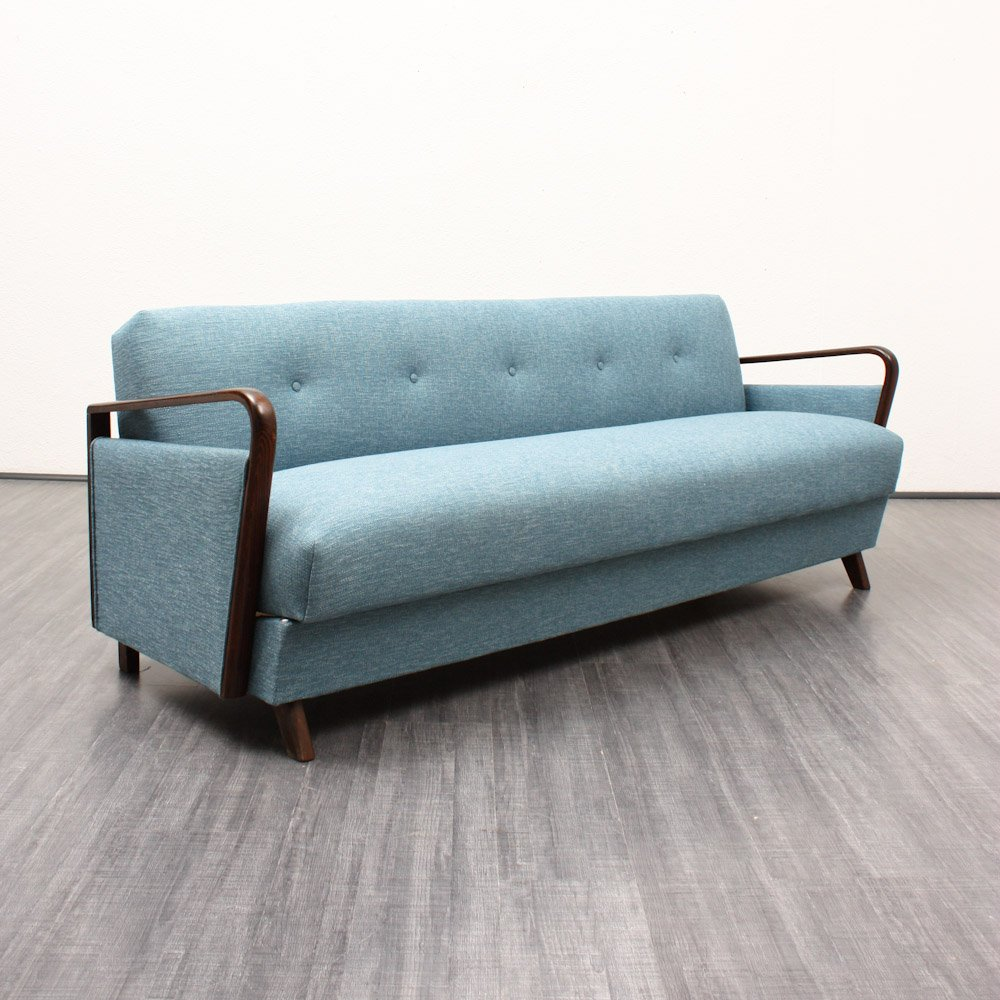 Vintage Sofa With Folding Function 1950s For Sale At Pamono