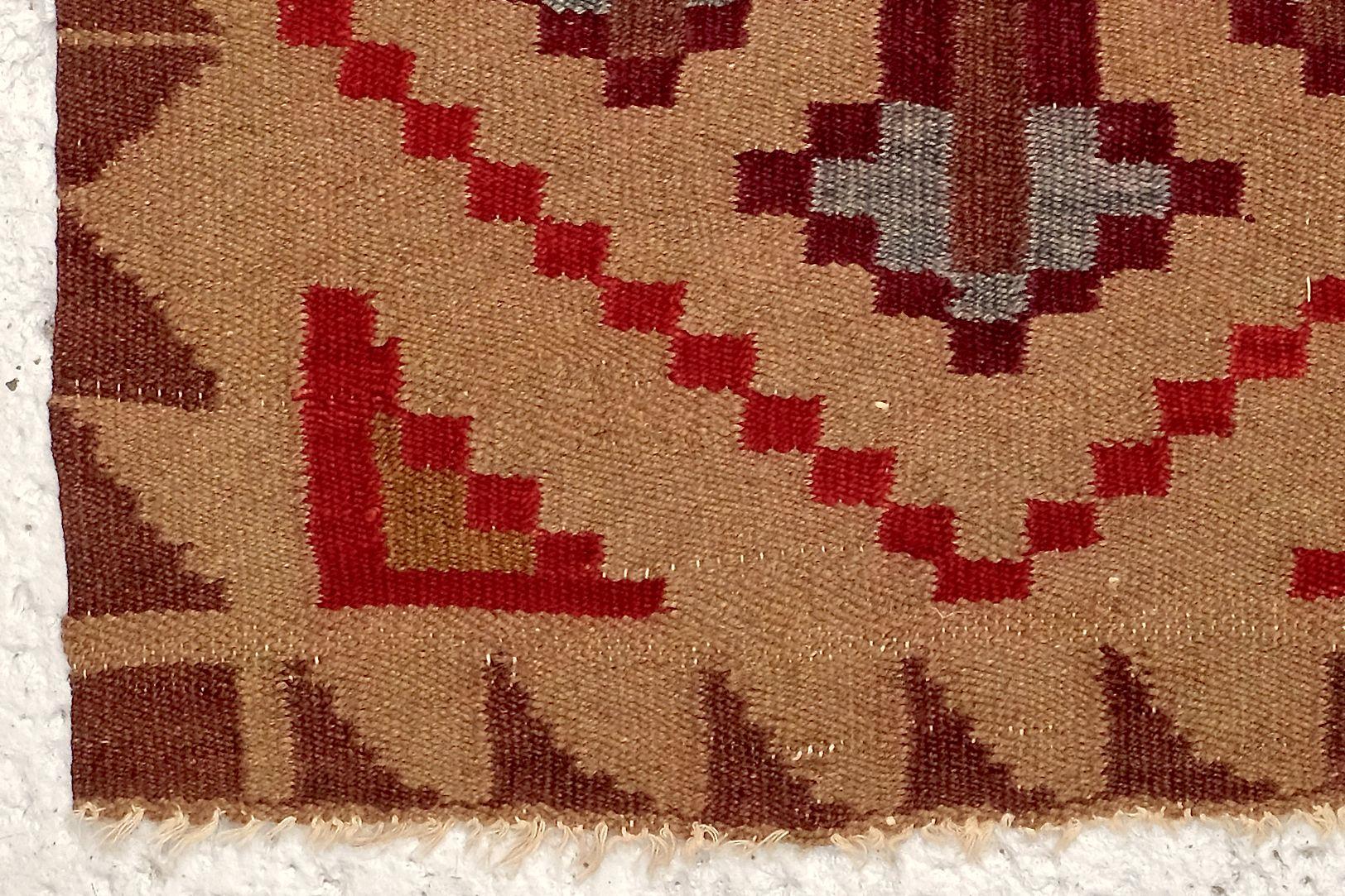gewebter finnischer art deco teppich 1920er bei pamono kaufen. Black Bedroom Furniture Sets. Home Design Ideas