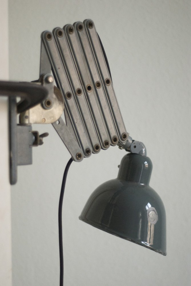 Large Scissor Lamp from Siemens, 1930s for sale at Pamono
