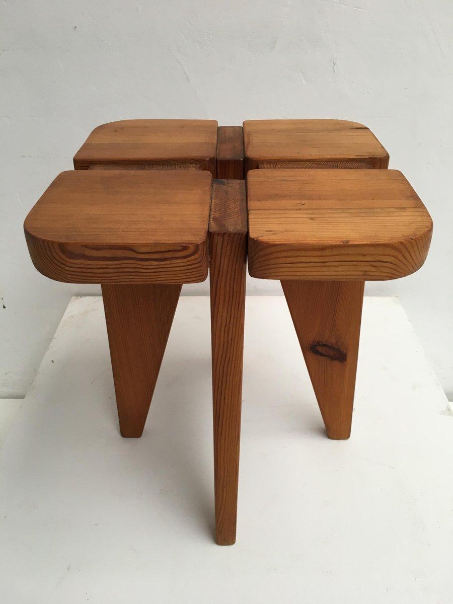 kiefernholz hocker von lisa johansson pape f r stockmann. Black Bedroom Furniture Sets. Home Design Ideas