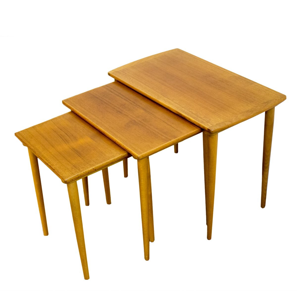 scandinavian nesting tables s for sale at pamono - scandinavian nesting tables s