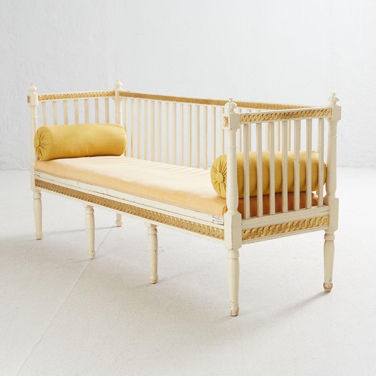 antikes schwedisches gustavianisches sofa 1790er bei pamono kaufen. Black Bedroom Furniture Sets. Home Design Ideas
