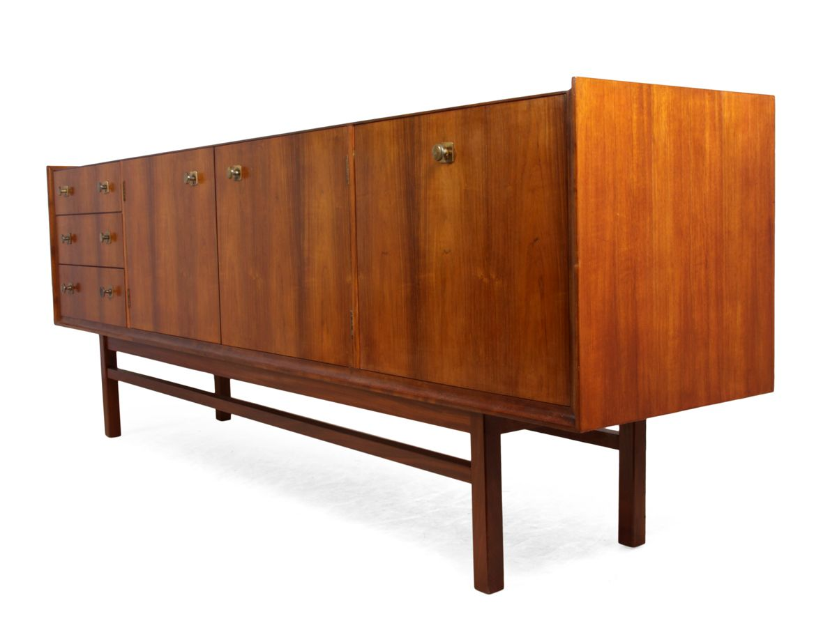 mid century rosewood vesper sideboard from gimson slater for sale at pamono. Black Bedroom Furniture Sets. Home Design Ideas