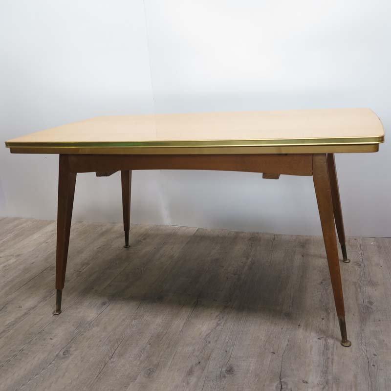 Ausziehbarer vintage tisch 1950er bei pamono kaufen for Ausziehbarer tisch