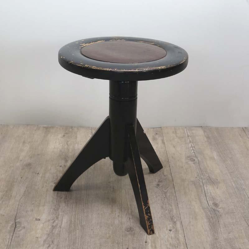 Rotating Black Piano Stool 1920s & Rotating Black Piano Stool 1920s for sale at Pamono islam-shia.org