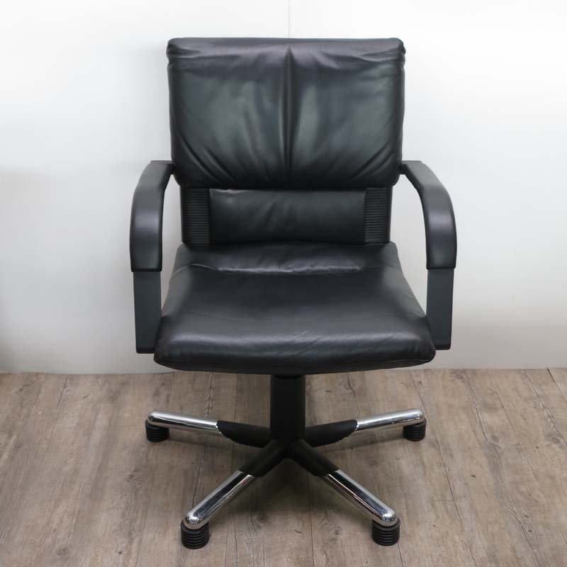 Leather Office Armchair by Mario Bellini for Vitra, 1995 for sale ...