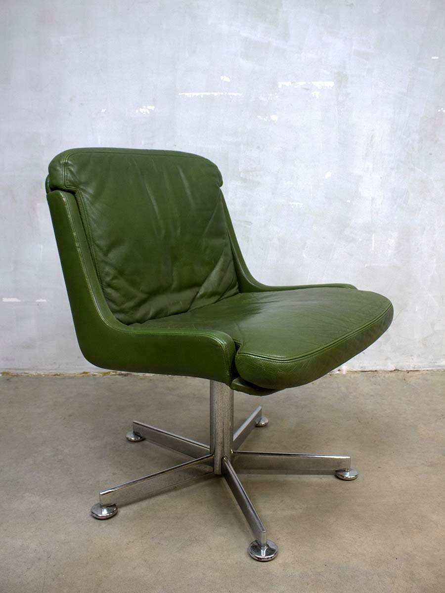 vintage office chairs for sale. vintage office chairs chair with olive green leather for sale at pamono f