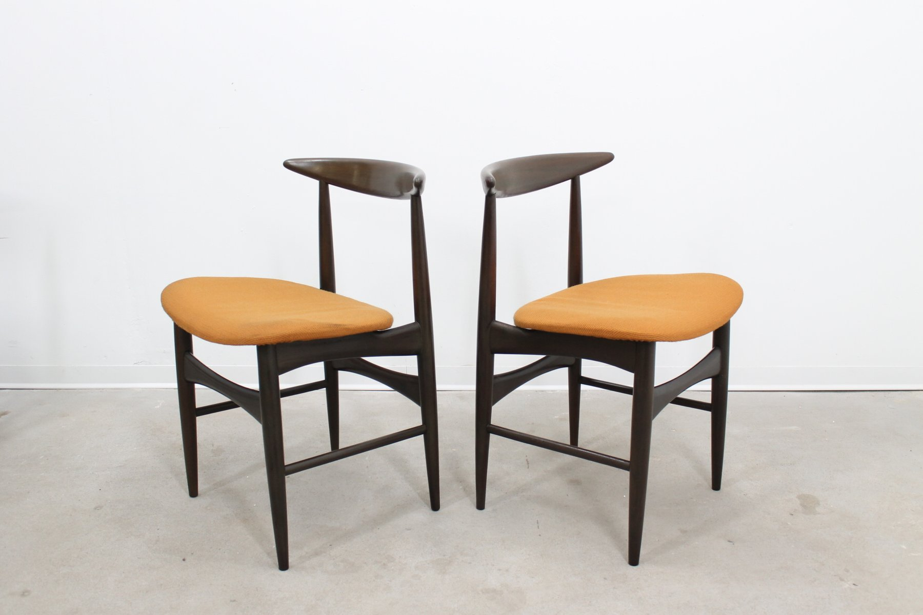 mid century dining table chairs set for sale at pamono. Black Bedroom Furniture Sets. Home Design Ideas