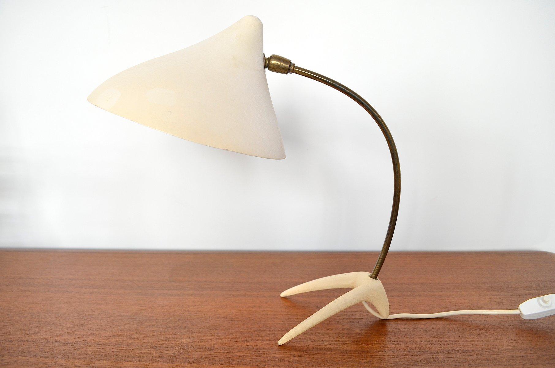 kr henfu tischlampe von louis kalff f r philips 1950er bei pamono kaufen. Black Bedroom Furniture Sets. Home Design Ideas