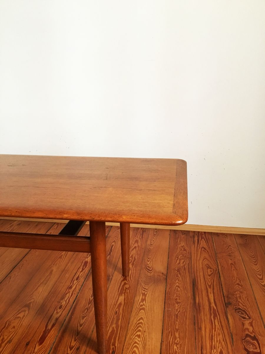Large Mid Century Teak Coffee Table