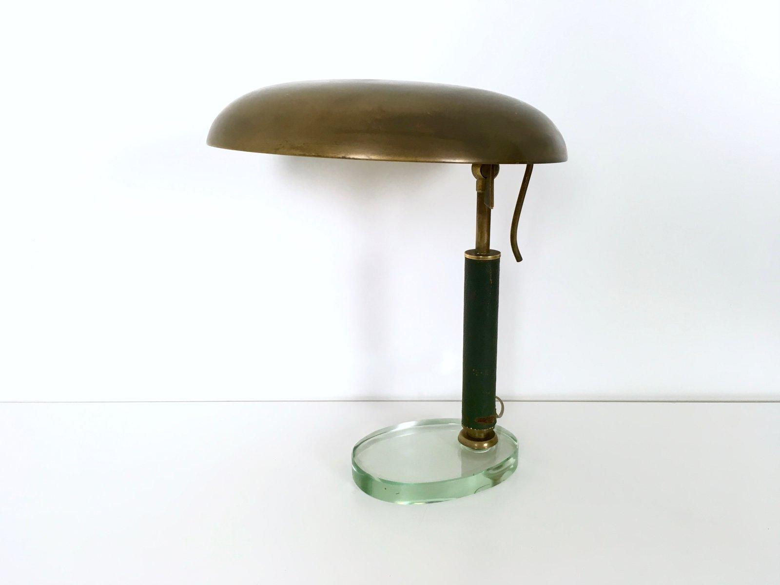 italienische messing tischlampe 1950er bei pamono kaufen. Black Bedroom Furniture Sets. Home Design Ideas