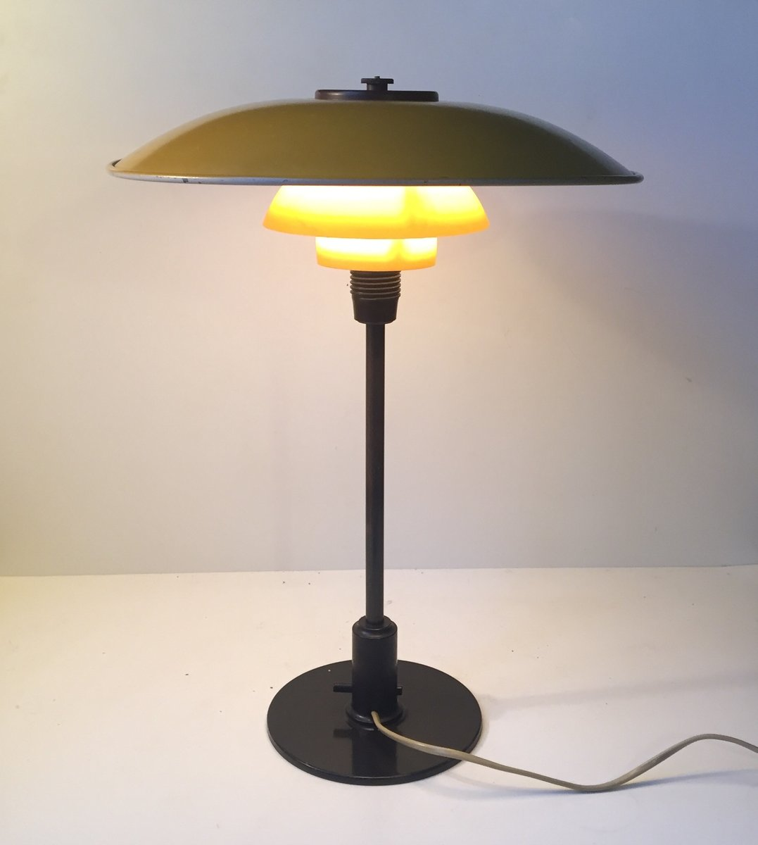 ph 3 5 2 table lamp by poul henningsen for louis poulsen 1930s for sale at pamono. Black Bedroom Furniture Sets. Home Design Ideas