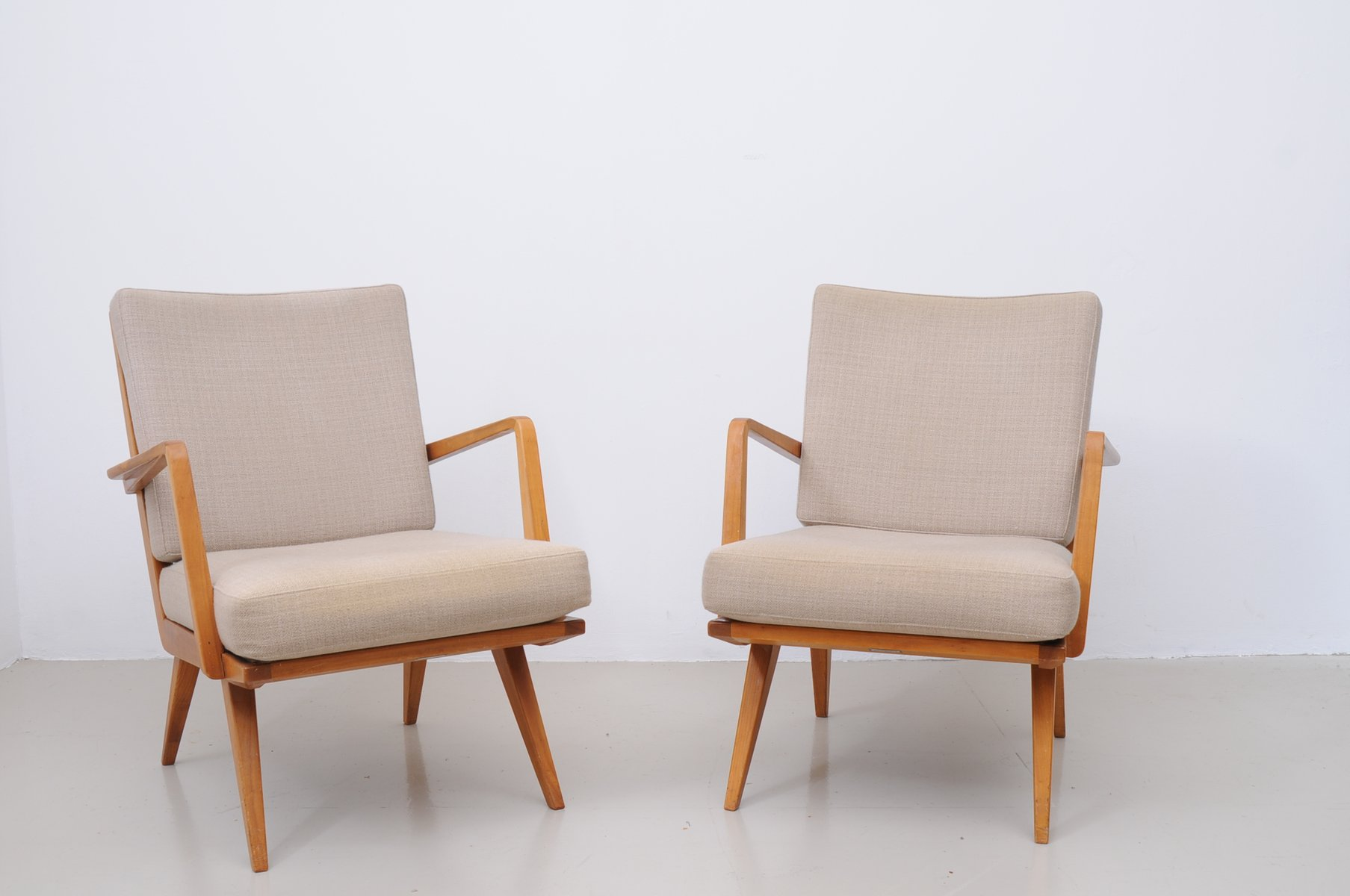 Mid Century Armchairs From Knoll Set Of 2 For Sale At Pamono
