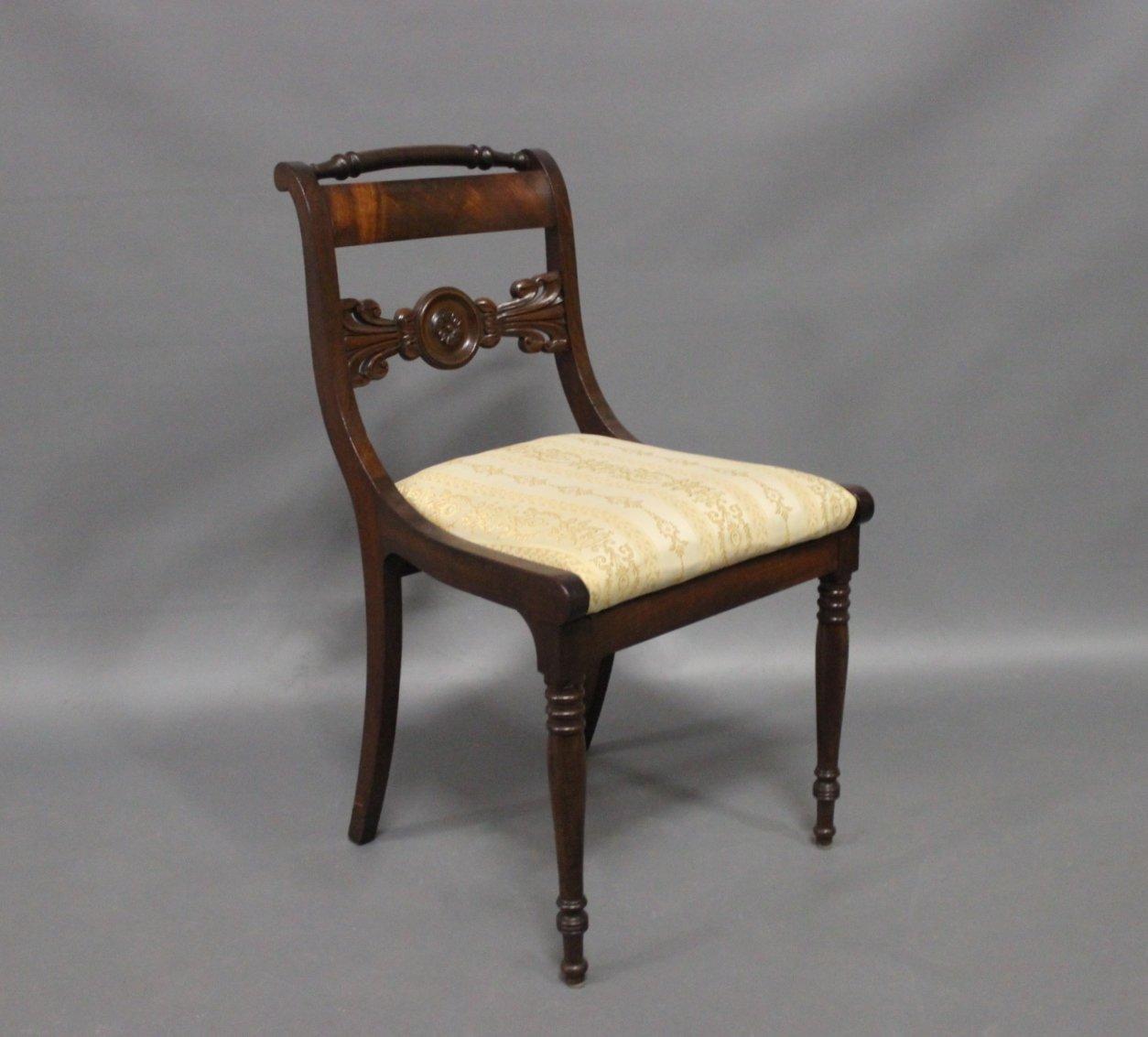 Antique Danish Chairs  19th Century  Set of 9. Antique Danish Chairs  19th Century  Set of 9 for sale at Pamono