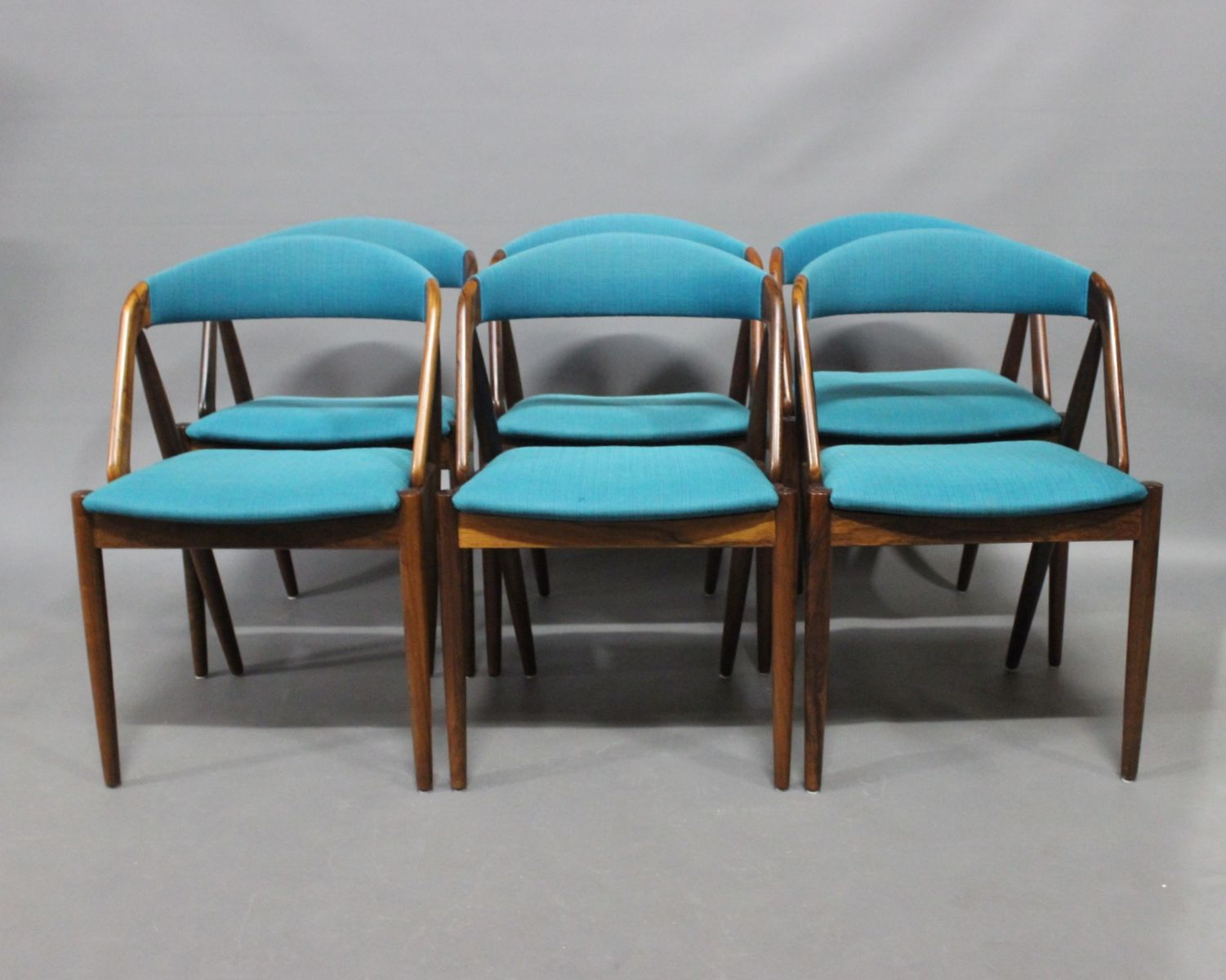 Model 31 Dining Room Chairs by Kai Kristiansen and Schou Andersen ...