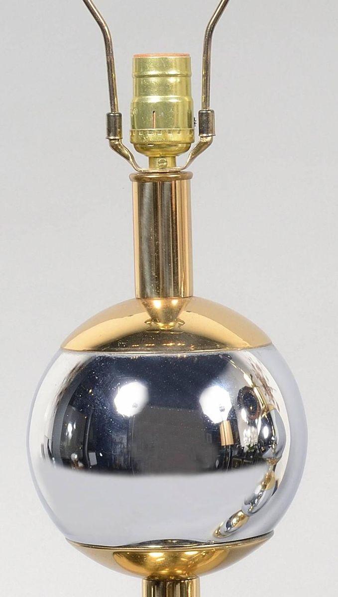 Vintage tischlampen aus edelstahl kupfer 1970er 2er for Tischlampen vintage