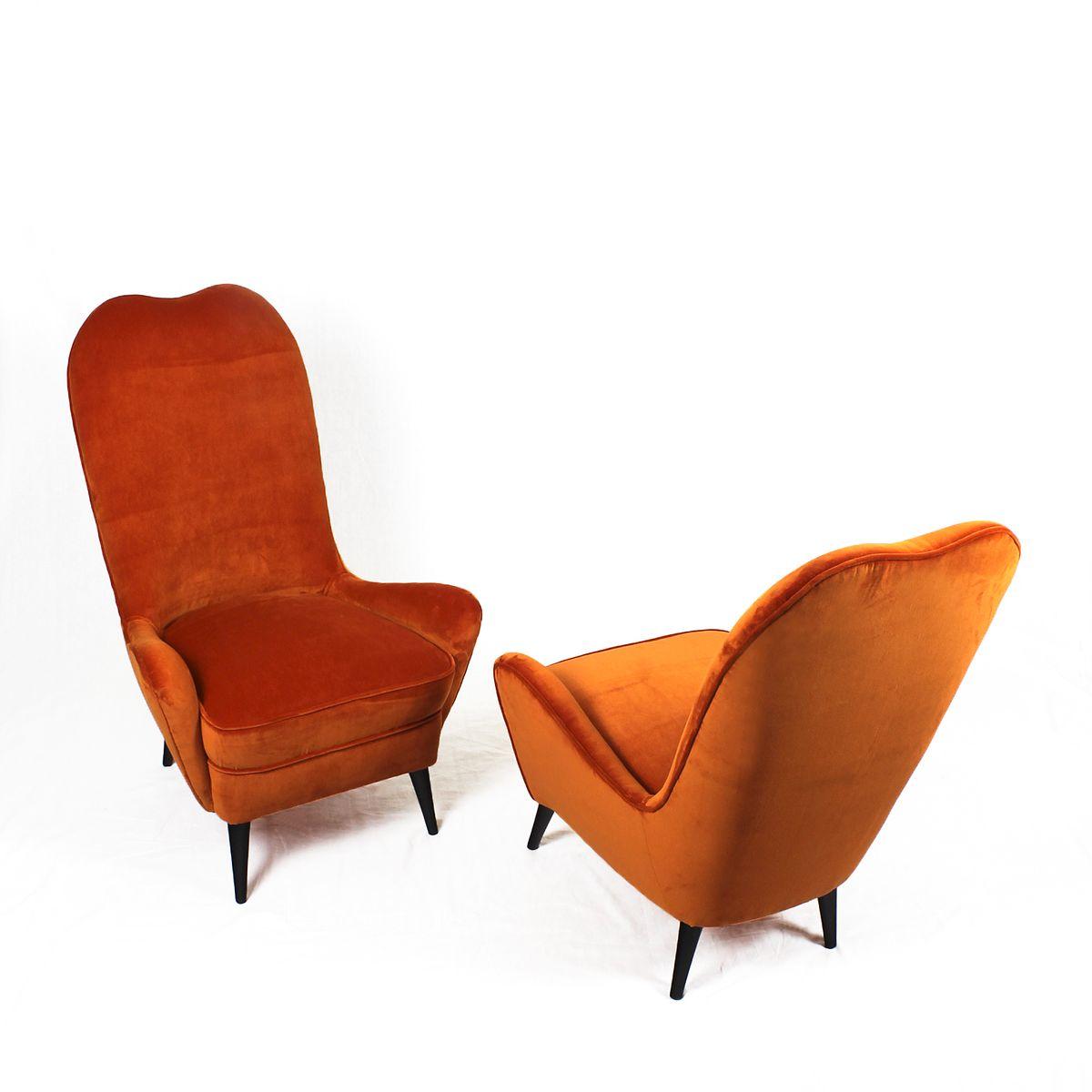vintage sessel 1940er 2er set bei pamono kaufen. Black Bedroom Furniture Sets. Home Design Ideas