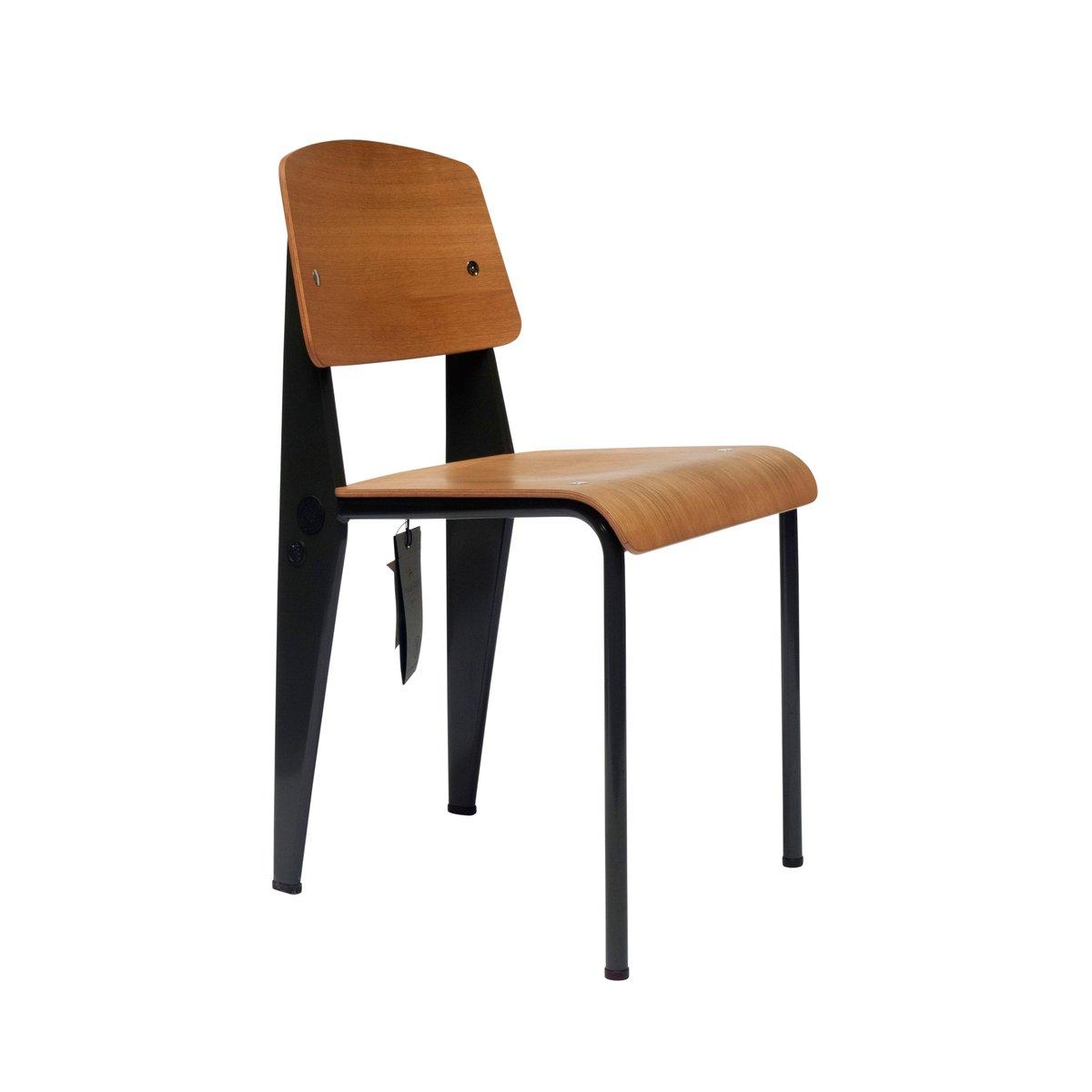 g star raw standard st hle von jean prouv f r vitra 2011 6er set bei pamono kaufen. Black Bedroom Furniture Sets. Home Design Ideas