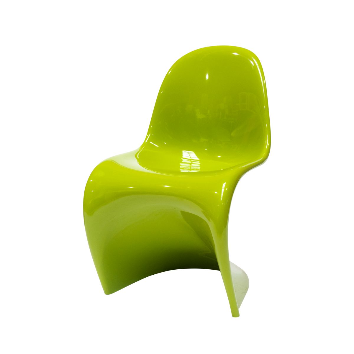 Great The Panton Chair In Chartreuse By Verner Panton For Vitra, 2006 For Sale At  Pamono