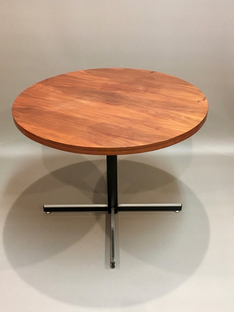 teak & metal model up and down coffee table, 1950s for sale at pamono