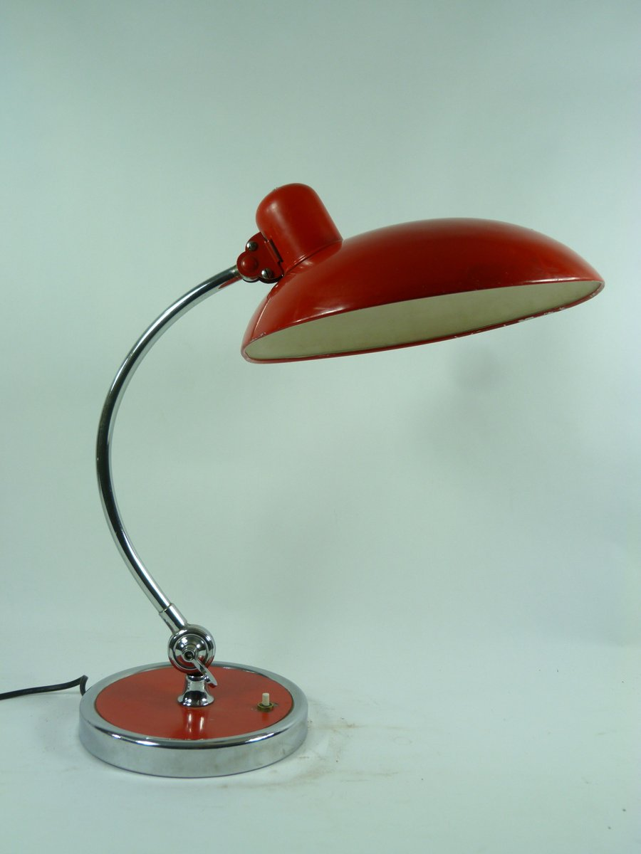 model 6631 bauhaus table lamp by christian dell 1970s for. Black Bedroom Furniture Sets. Home Design Ideas