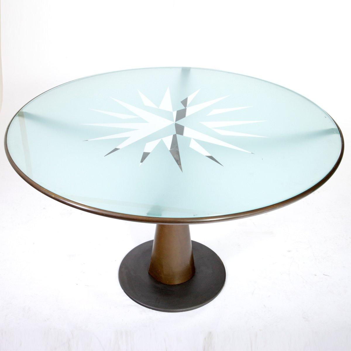 astrolabio tisch von oscar tusquets f r aleph 1980er bei. Black Bedroom Furniture Sets. Home Design Ideas