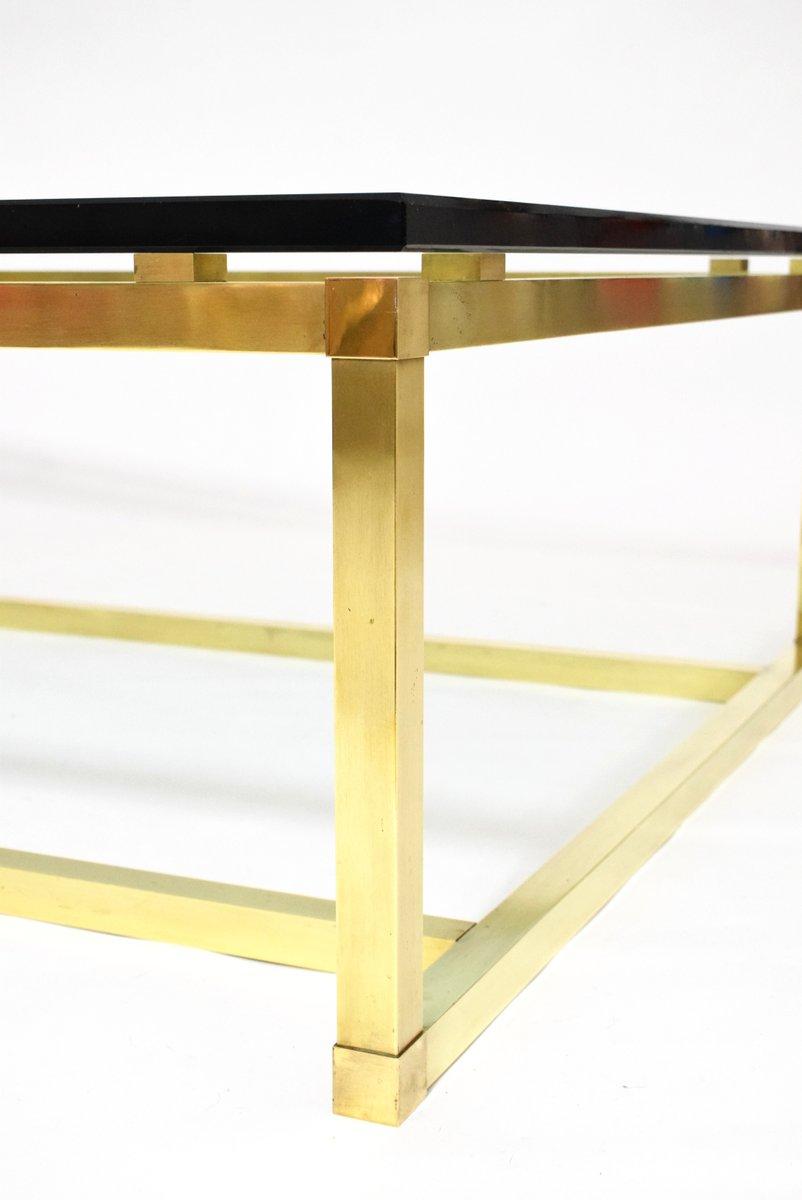 gro er vintage messing couchtisch bei pamono kaufen. Black Bedroom Furniture Sets. Home Design Ideas