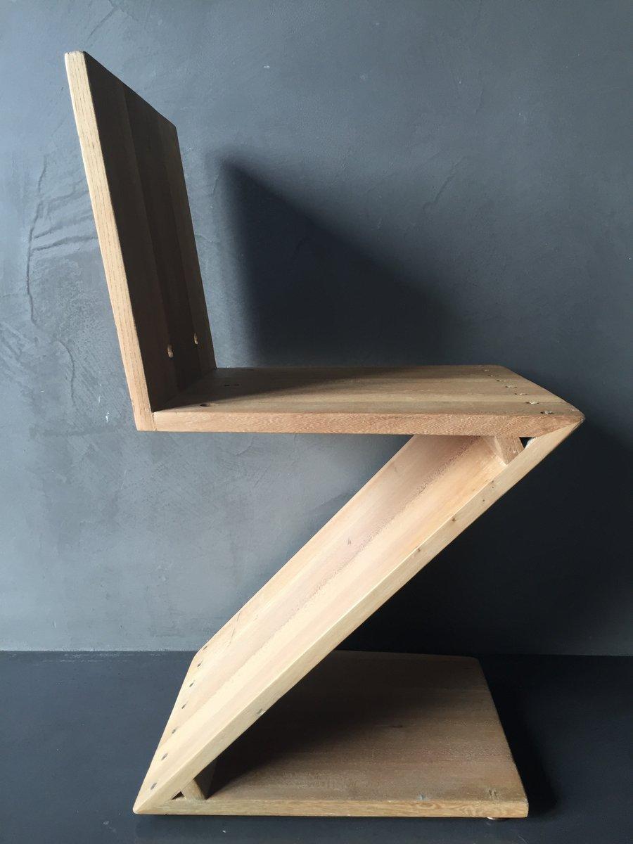 Gerrit rietveld furniture - Zig Zag Chair By Gerrit Rietveld For G A Van De Groenekan