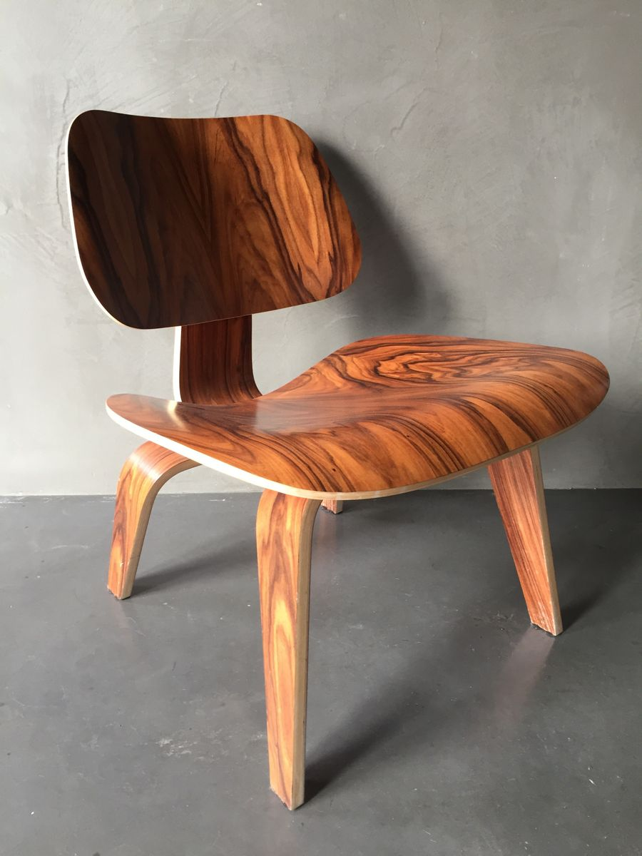 Lcw Santos Rosewood Chair By Charles Ray Eames For Herman Miller For Sale At Pamono