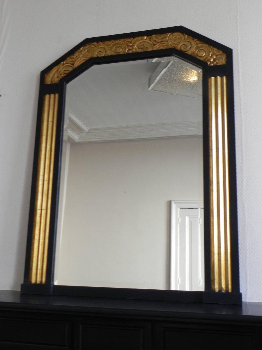 Miroir art d co avec verre biseaut 1930s en vente sur pamono for Miroir art deco 1930