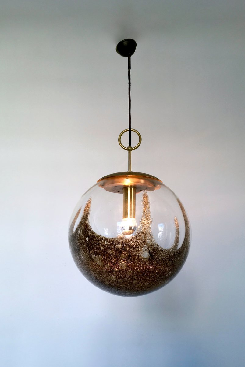 Blown Glass Pendant from La Murrina, 1970s for sale at Pamono