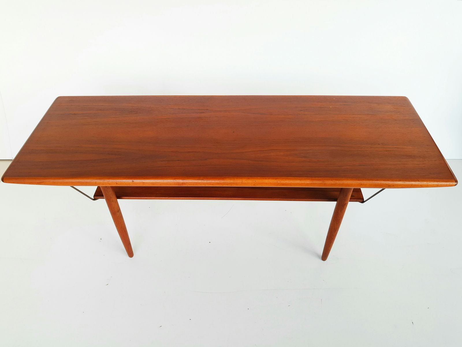 Teak Coffee Table From Arrero Mobler 1960s For Sale At Pamono